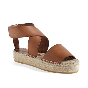 Sincerely Jules Vince Elise Criss Cross Ankle Espadrille Sandals