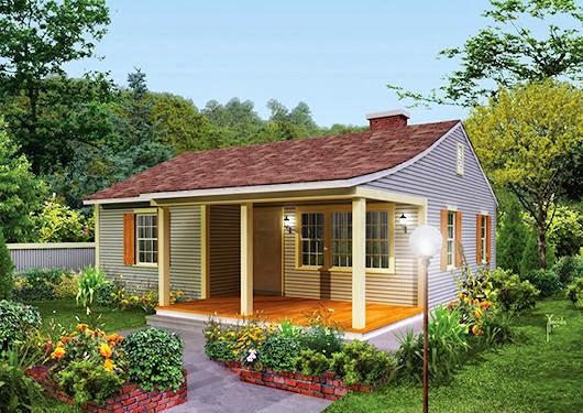 Casas prefabricadas casa real feliz navidad para todos - Casas de madera bonitas ...