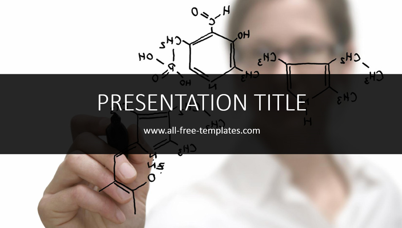 Chemistry PowerPoint Template ~ All-free-templates