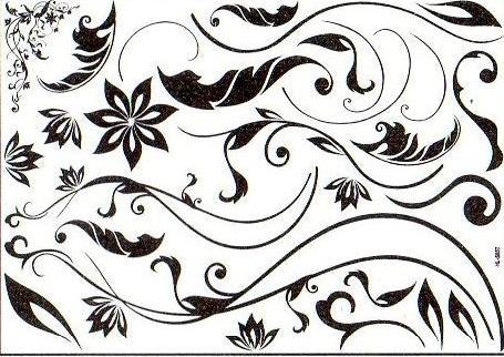 Esquineros decorativos para hojas - Imagui