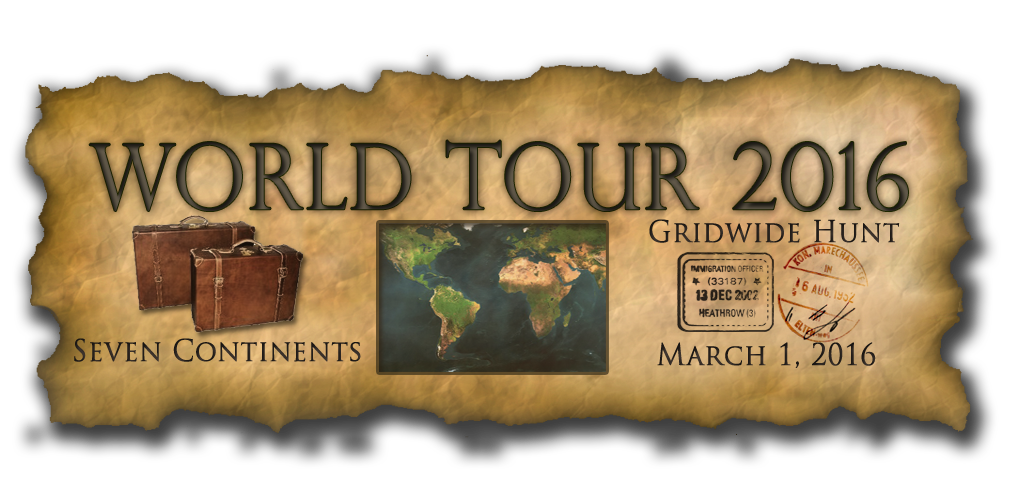 World Tour 2016 Gridwide Hunt