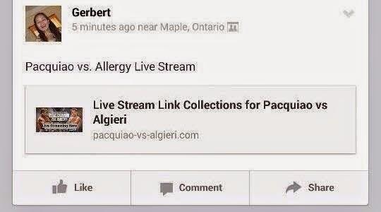 Pacquiao vs Algieri Funny memes