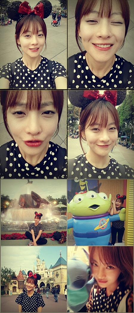 Oh Yeon Seo in Vacation