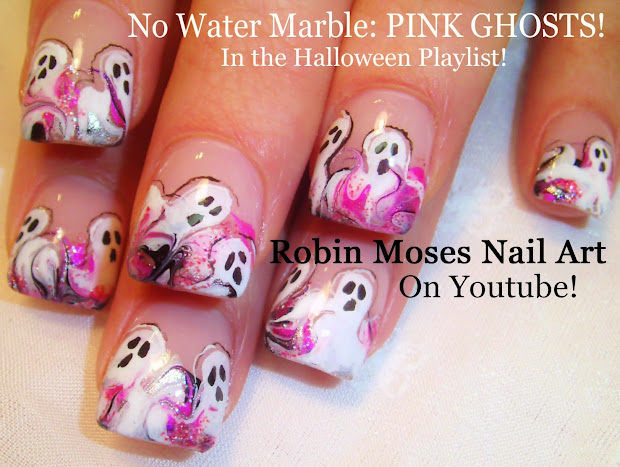 """robin moses nail art """"halloween"""