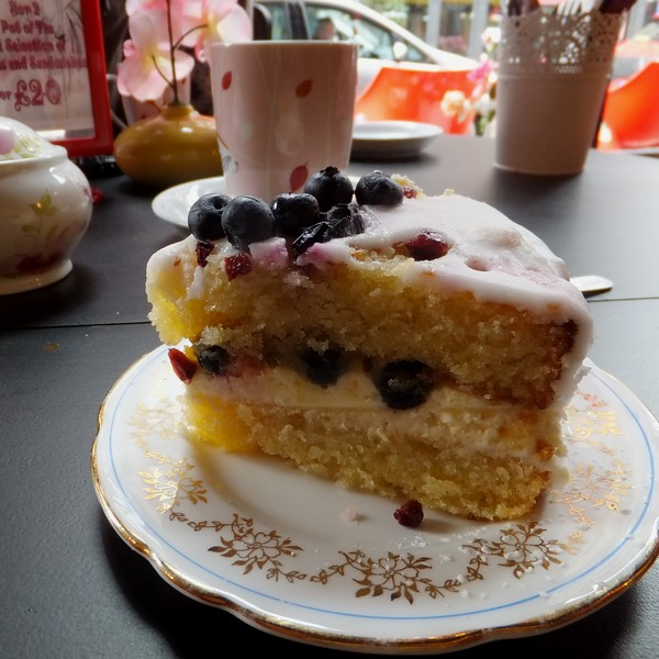 glasgow écosse scotland brunch once upon a tart tearoom cake