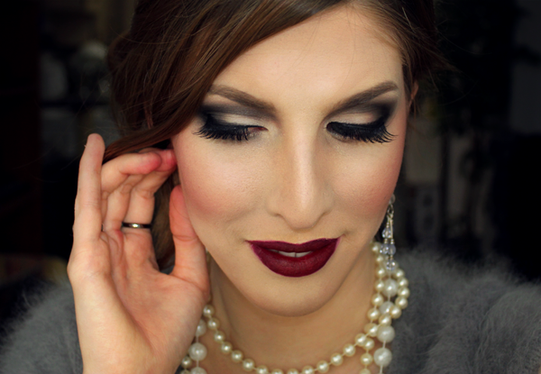 wearable 1920s inspired makeup tutorial meredith
