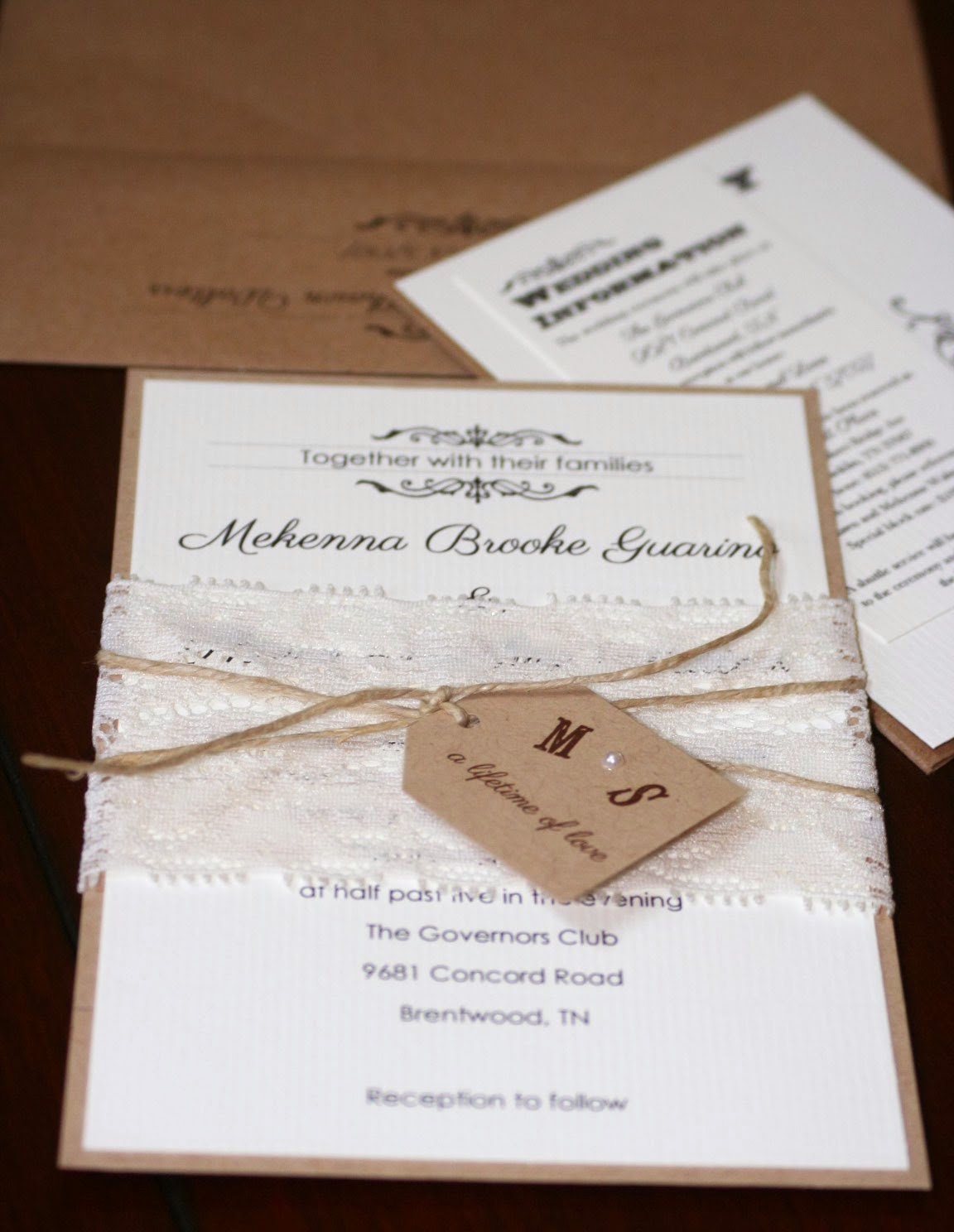 Inviti Matrimonio Country Chic : S o sposi matrimonio shabby chic
