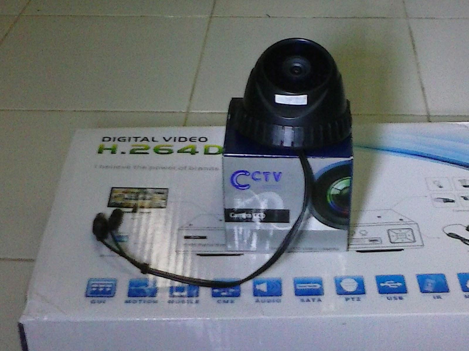 Tipe Camera CCTV 480TVL yang warna Hitam