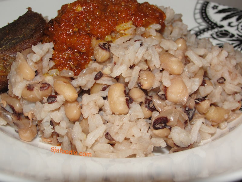 Modern African Cuisine: Rice and Beans