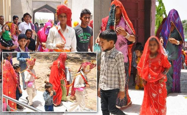 Children As Young As 7 Forced To Marry In Mass Wedding