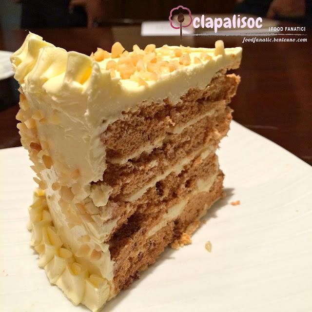 LJC Group Restaurant Fely J's San Rival Cake