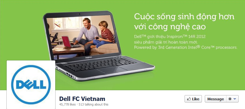 Fanpage của Dell FC Vietnam