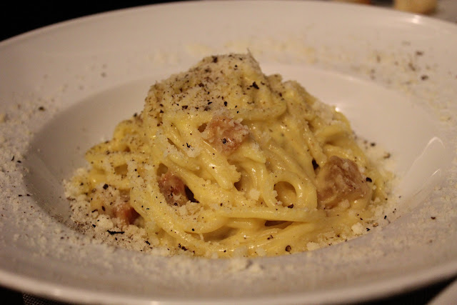 Carbonara at Roscioli, Rome, Italy