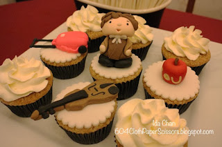 #Sherlock cupcakes by Cathy Wong SweeTease Cupcakes