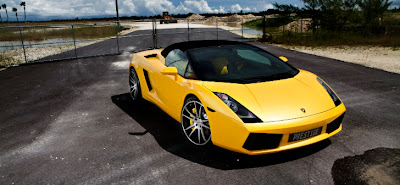 Lamborghini Gallardo Spyder on CW-5 Concavo Wheels