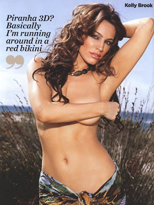 Kelly Brook on FHM Magazine