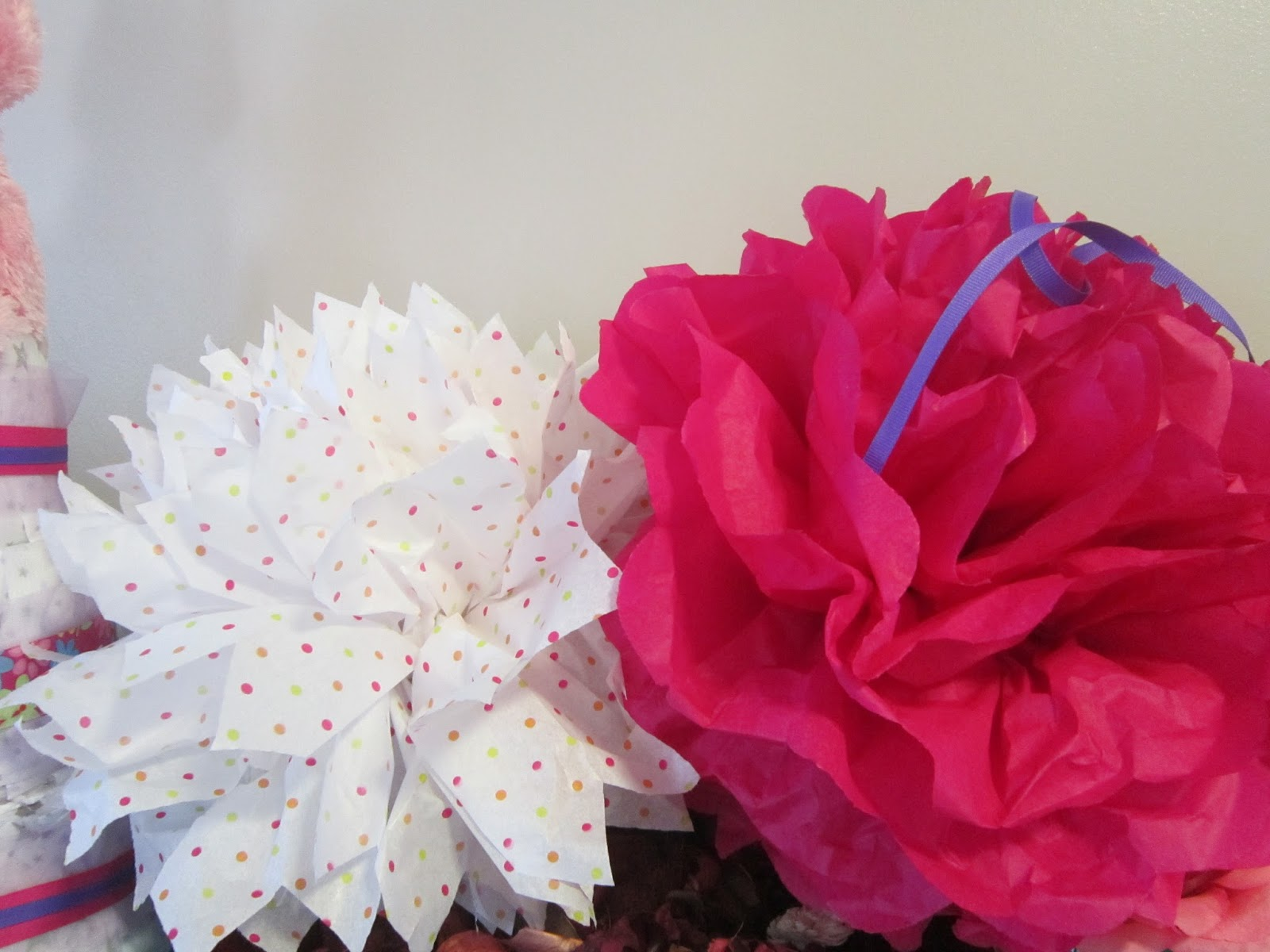 Simply Clean Living How Tuesday How To Make Tissue Paper Pom Poms
