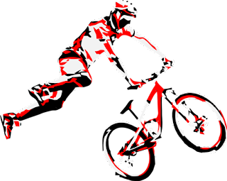 Mountain Biking Clip Art