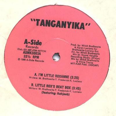 Tanganyika – I'm Little Roxanne (1985, 12'', 256)