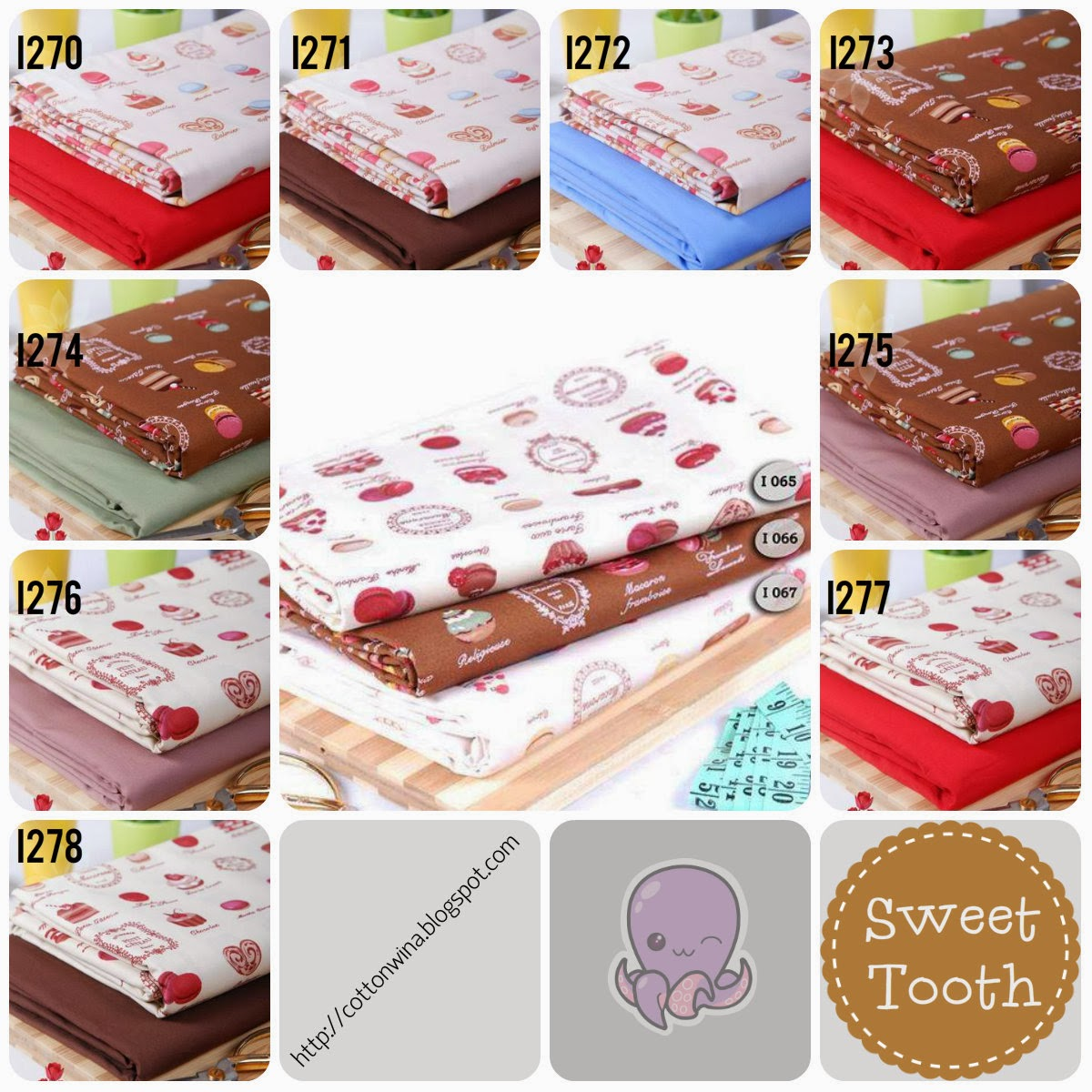 Kids Pattern Sweet Tooth