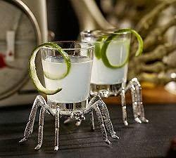 Spider shot glasses