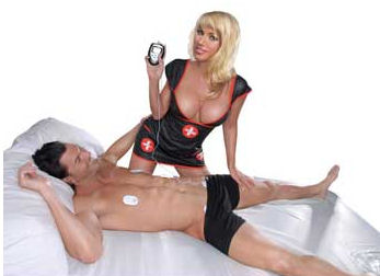 Shock Therapy Electro Sex Kit. Adam & Eve carries this for $49.95