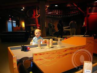 Boston's Children's Museum with a Toddler