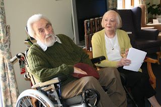 Author and Alzheimer's sufferer William & wife Sheila in 2012