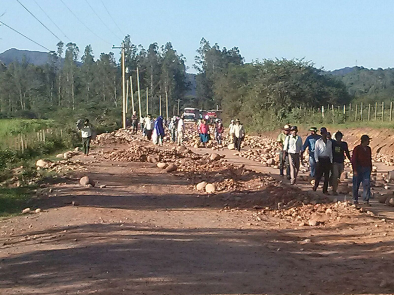 Por falta de desembolso de la gobernación de Tarija, 8 proyectos paralizados en la provincia O'connor