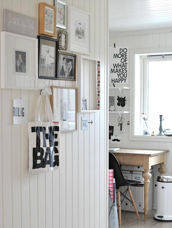galleriplass : foto i interiøret