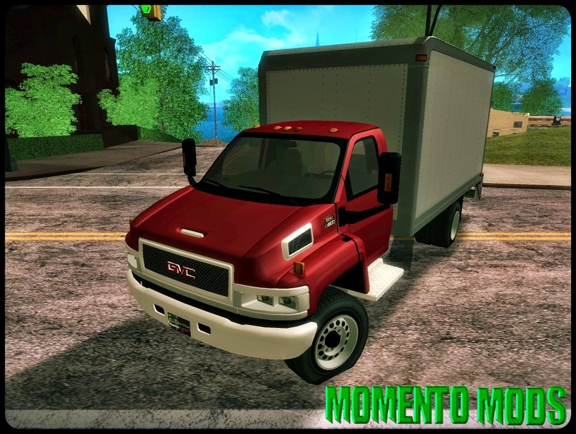 GTA SA - GMC 5500 2001