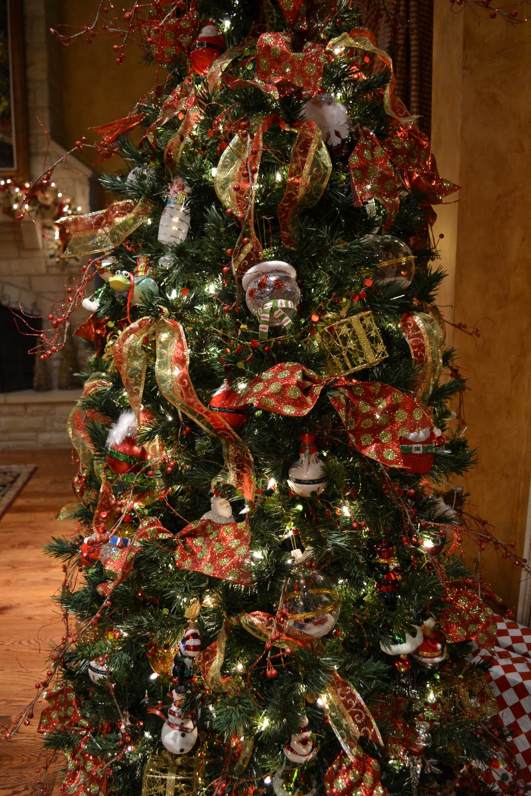 elegant whimsical christmas tree