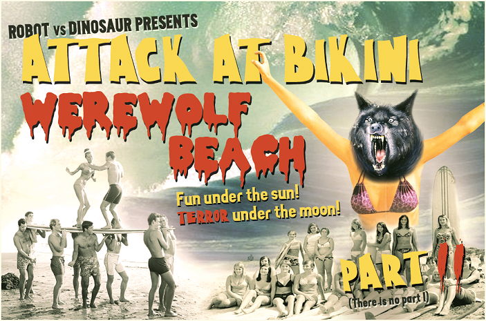 Attack at Bikini Werewolf Beach: Part II