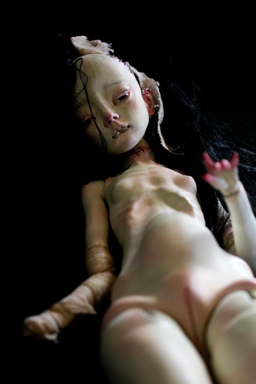 Doctor Ojiplatico. Etsuko Miura. Dolls