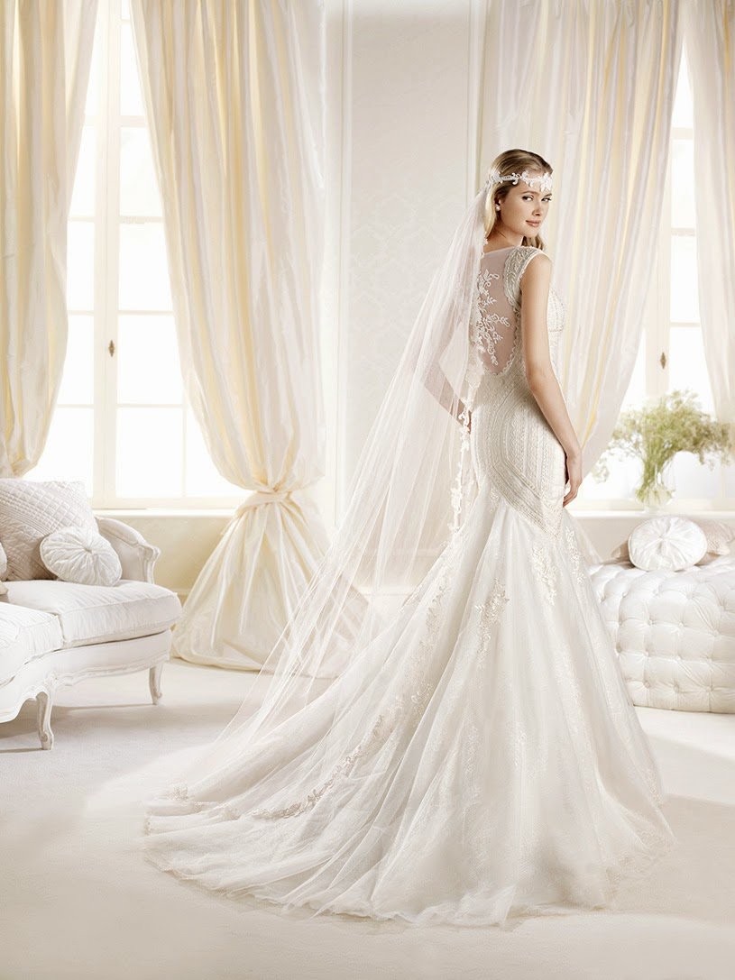 Iciar, mermaid wedding dress, La Sposa 2014