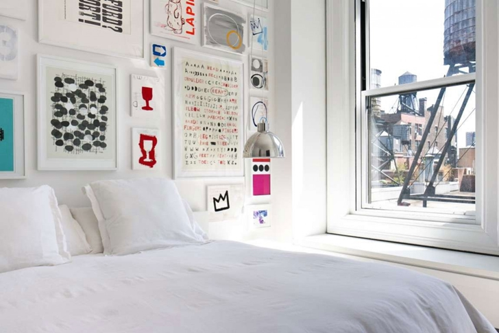 "Bed in Modern New York Apartment by ""Resolution: 4 Architecture"""