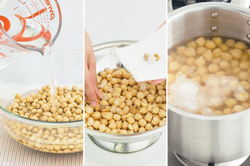 How To Prepare Dried Chickpeas