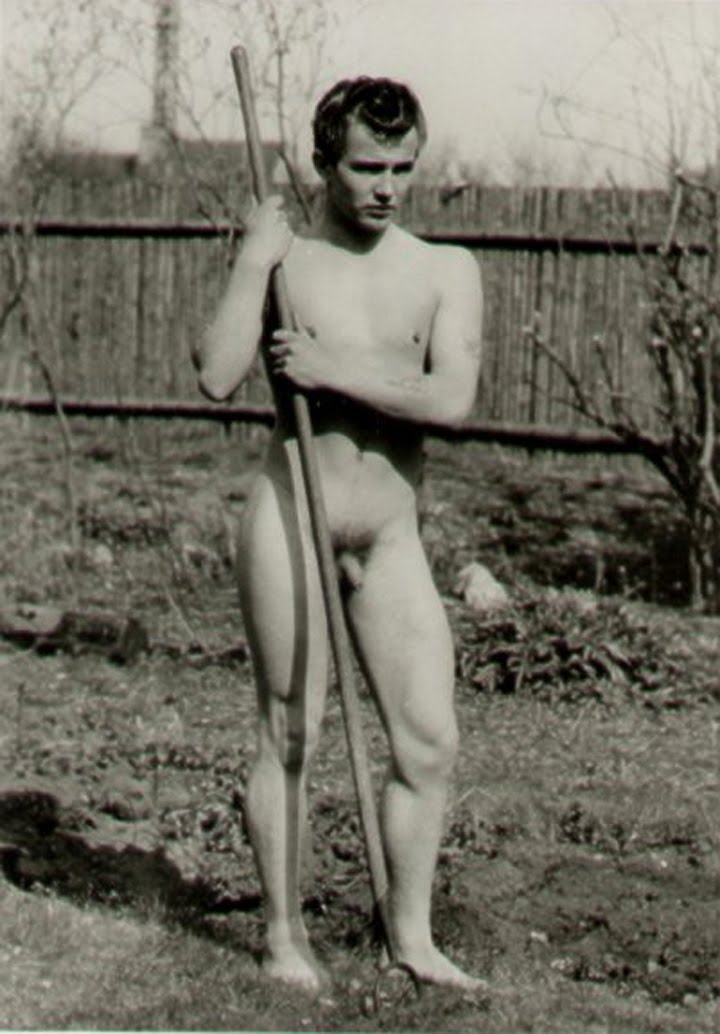 Male vintage photographs nude danish