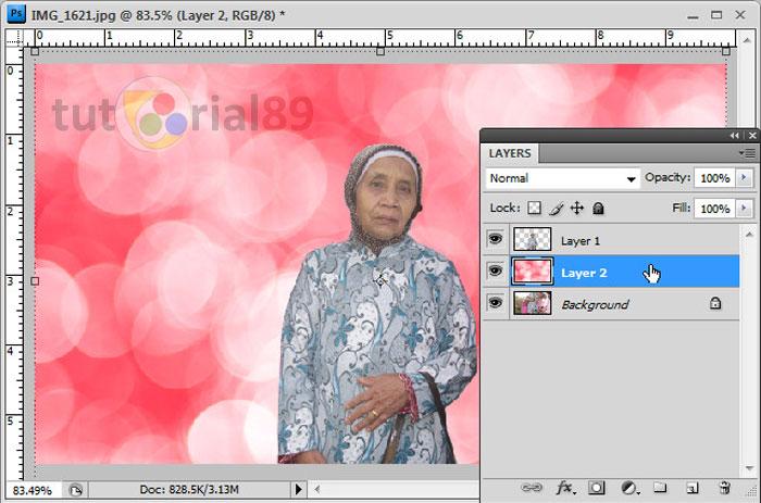Cara mudah mengganti background foto dengan photoshop