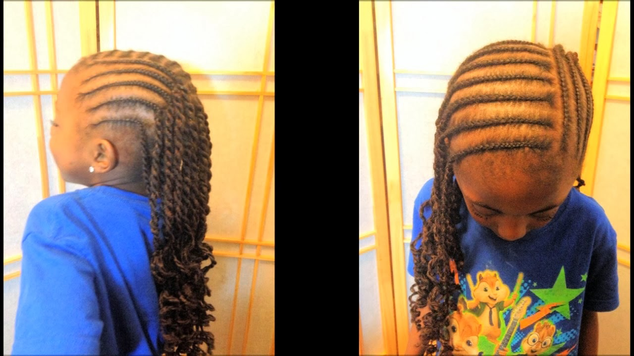 Cornrows and Marley Rope Twists - Coilybella