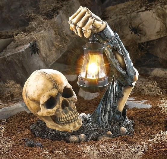 Tengkorak bangun dari kubur
