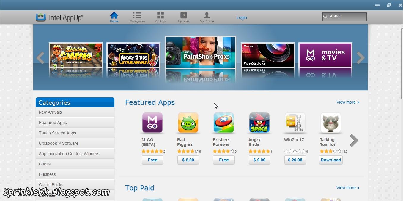 Intel-App-Up