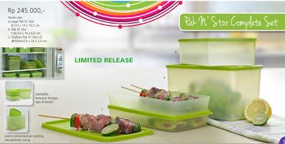 Tupperware Pak n Stor Complete Set
