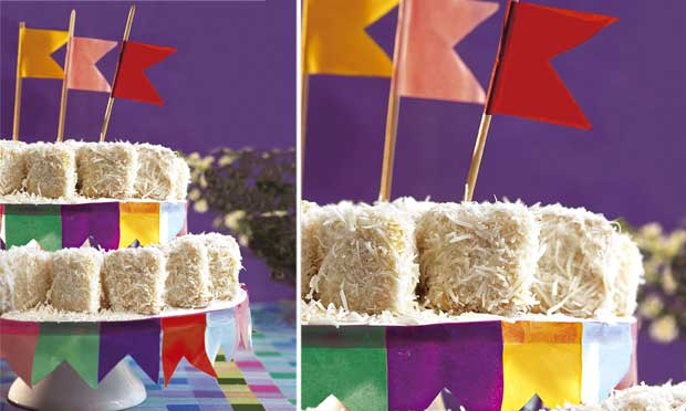 decoracao alternativa para festa junina:Cereja Neon: Decoração Festa Junina – Colorida, deliciosa e super