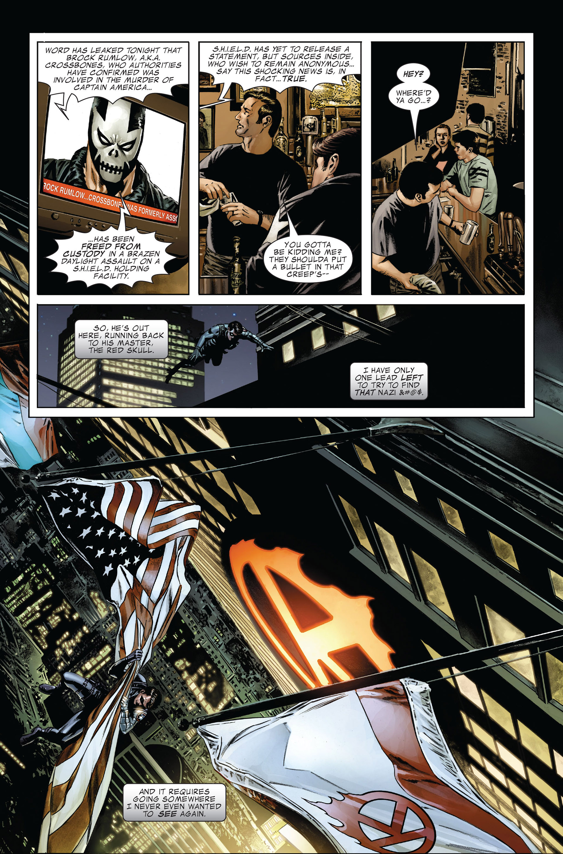 Captain America (2005) Issue #29 #29 - English 11