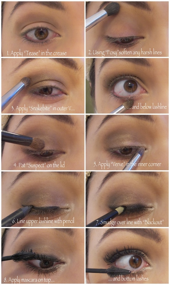 Urban Decay Naked2 Tutorial - Step by Step |Makeup and Macaroons