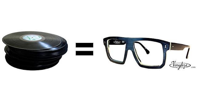 okulary winylowe