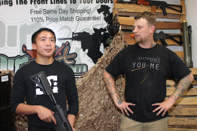 """Charlie"" and the Airsoft Factory Tour"