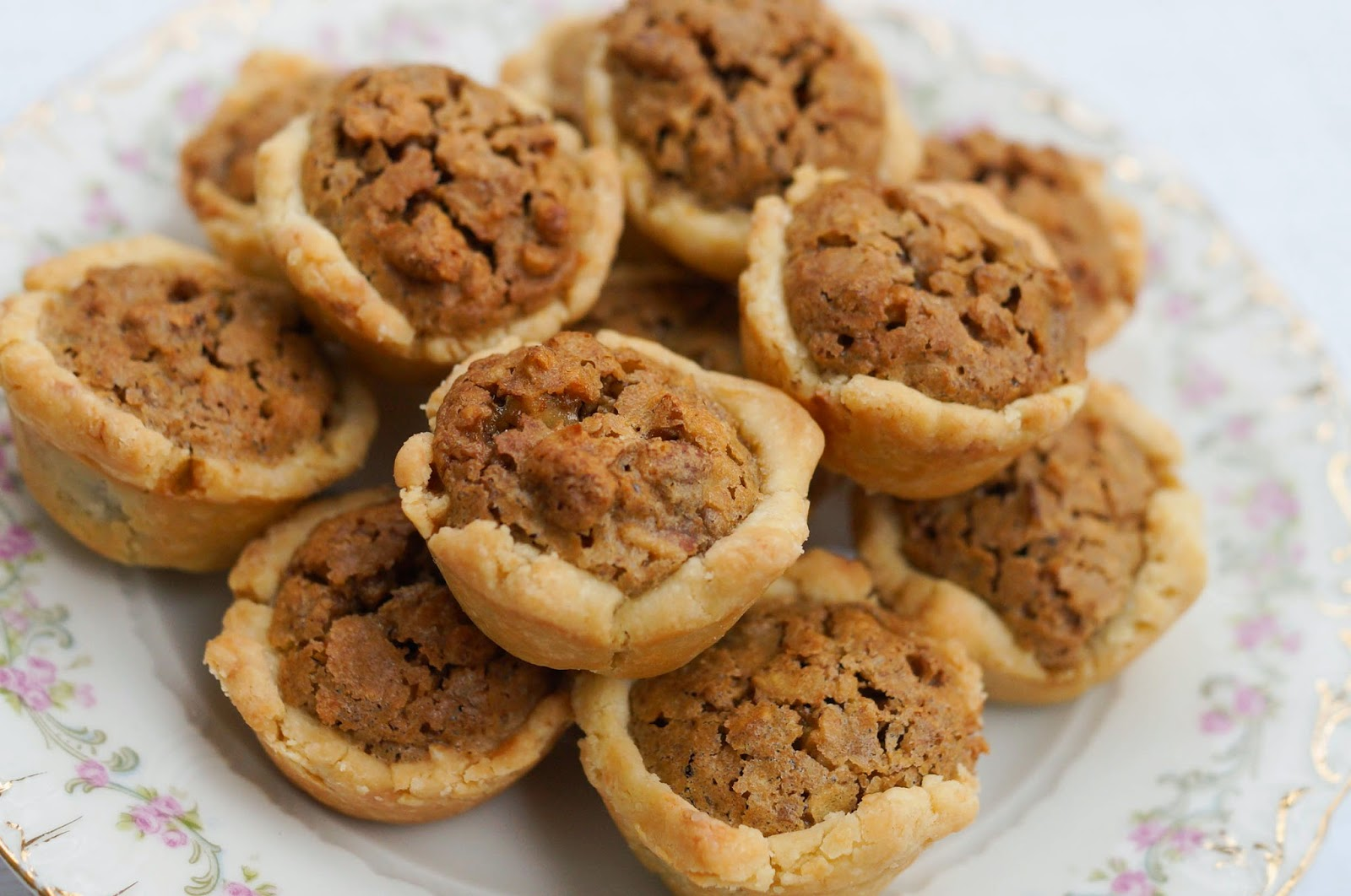 Pecan Tassies makes 24 Printable Recipe ( with doubled ingredients)