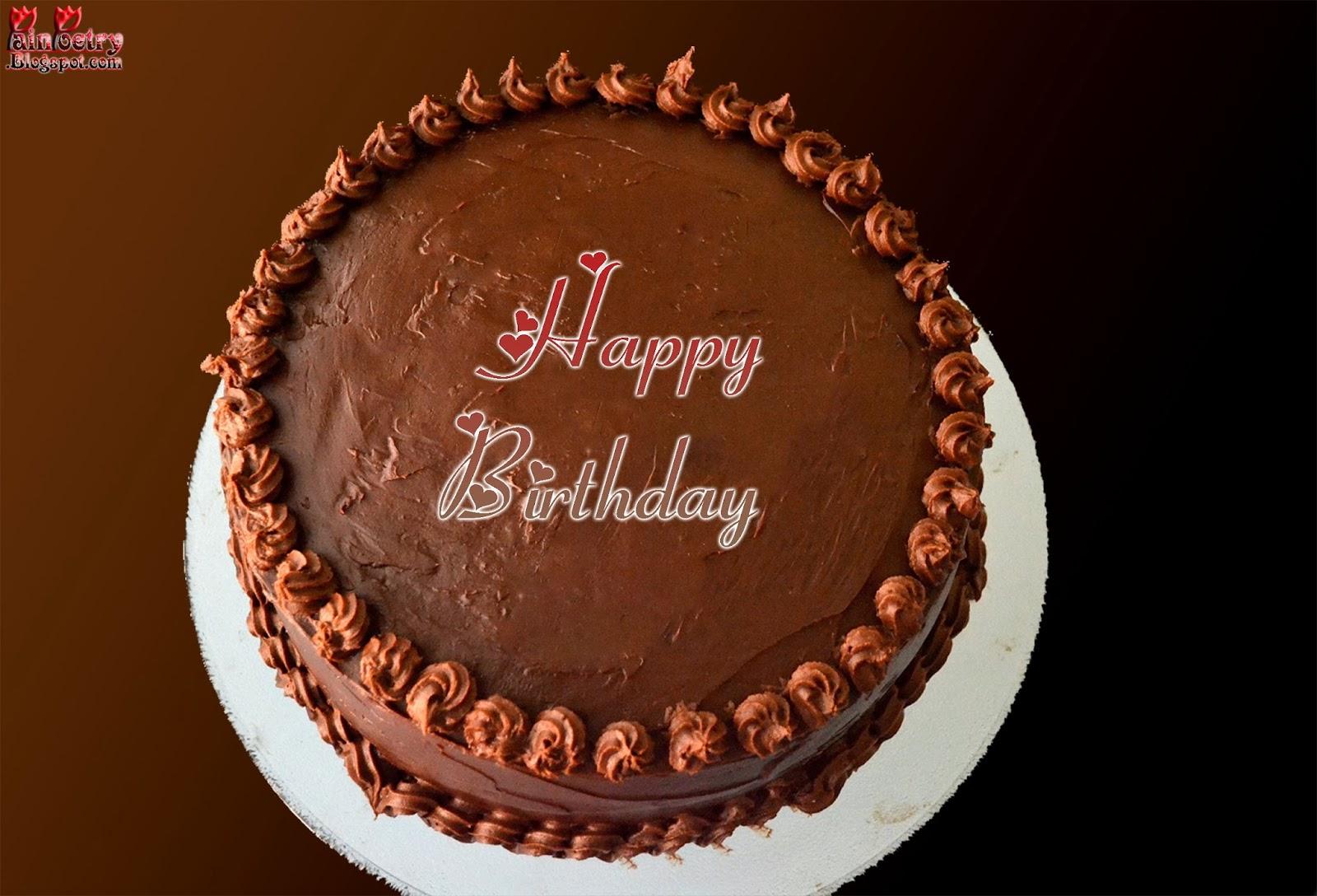 Happy-Birthday-Cake-Wishes-Chocolate-Walpaper-Image-HD-Wide